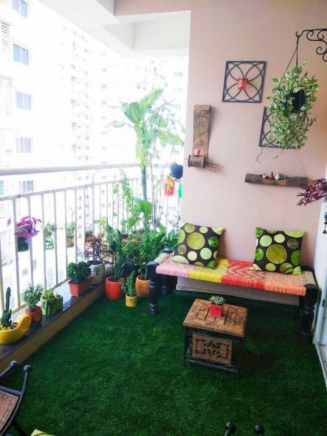 70 Comfortable Apartment Balcony Decorating Ideas Home