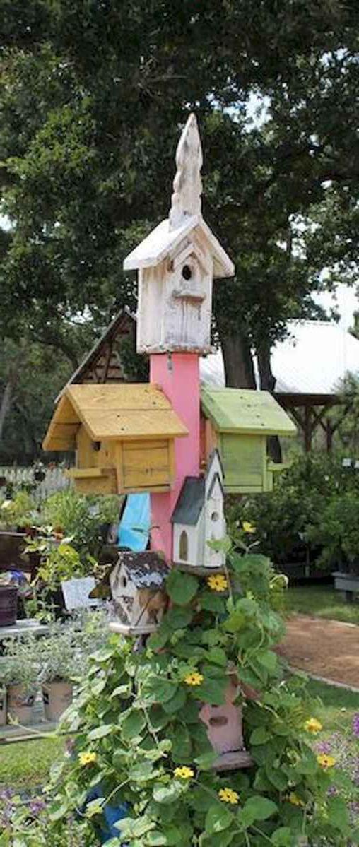 70 Creative And Inspiring Garden Art From Junk Design