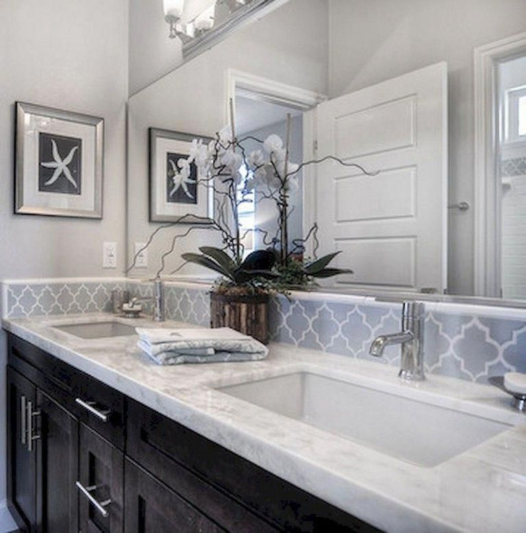 72 Lovely Kitchen Backsplash With Dark Cabinets Decor