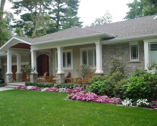 75 Amazing Farmhouse Front Porch Decor Ideas Ranch House