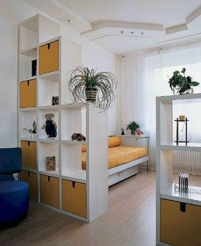 80 Gorgeous Studio Apartment Divider Decor Ideas And