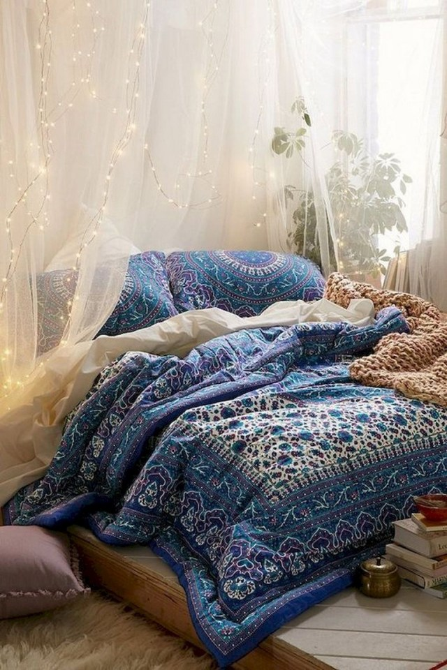 89 Cozy Romantic Bohemian Style Bedroom Decorating Ideas Page 2 Of 90