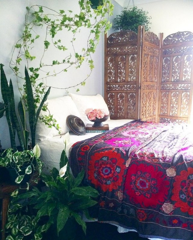 89 Cozy Romantic Bohemian Style Bedroom Decorating Ideas Page 4 Of 90