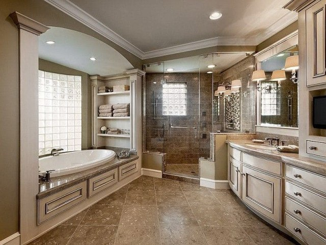 9 Master Bathroom Designs For Inspiration Curated Photo