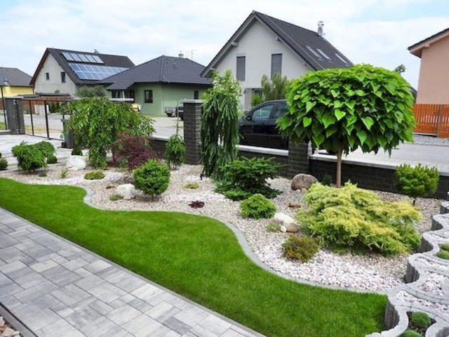 90 Simple And Beautiful Front Yard Landscaping Ideas On A Budget 78 Yard Landscaping
