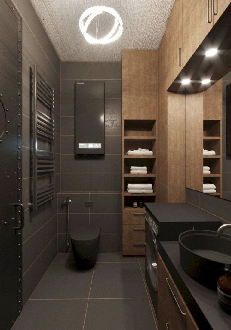 95 Amazing Small Bathroom Remodel Ideas Bathroom Dark