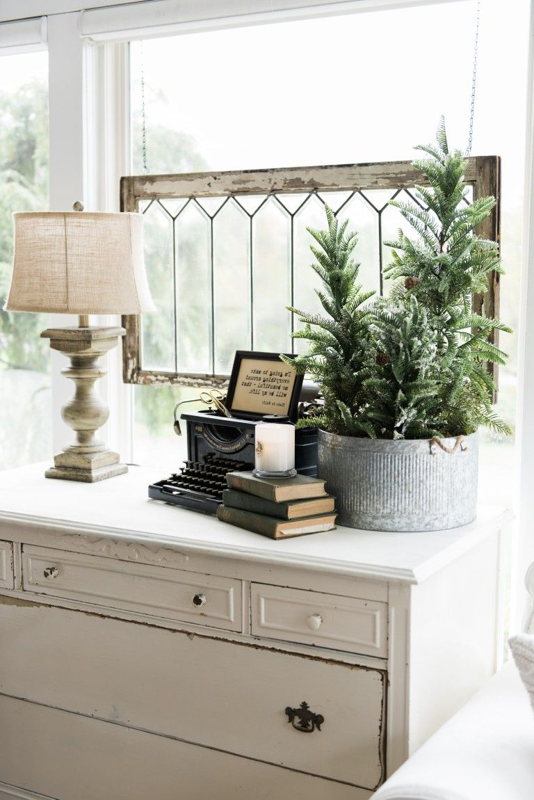 A New Old Dresser In The Sunroom Decor Home Decor