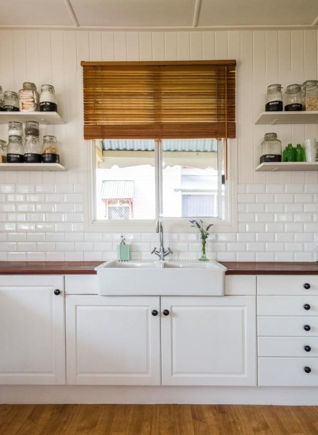 A Traditional Queenslander Home White Farmhouse