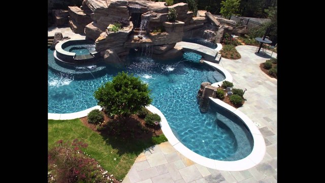 Above Ground Oval Swimming Pool Deck Designs Youtube