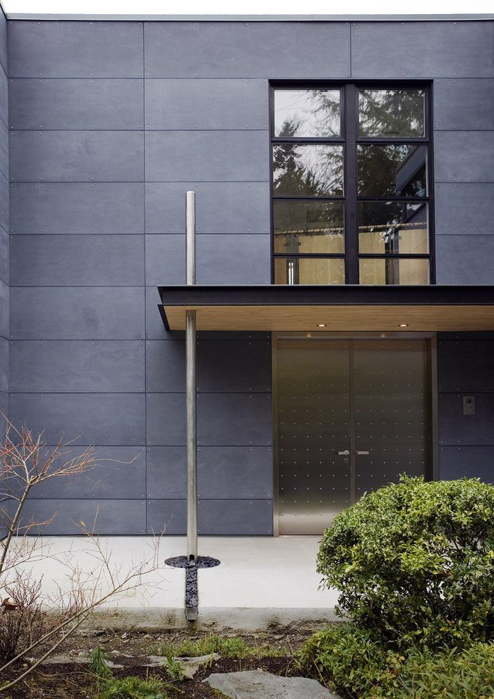Aluminum Siding Panels Exterior Contemporary With Cement