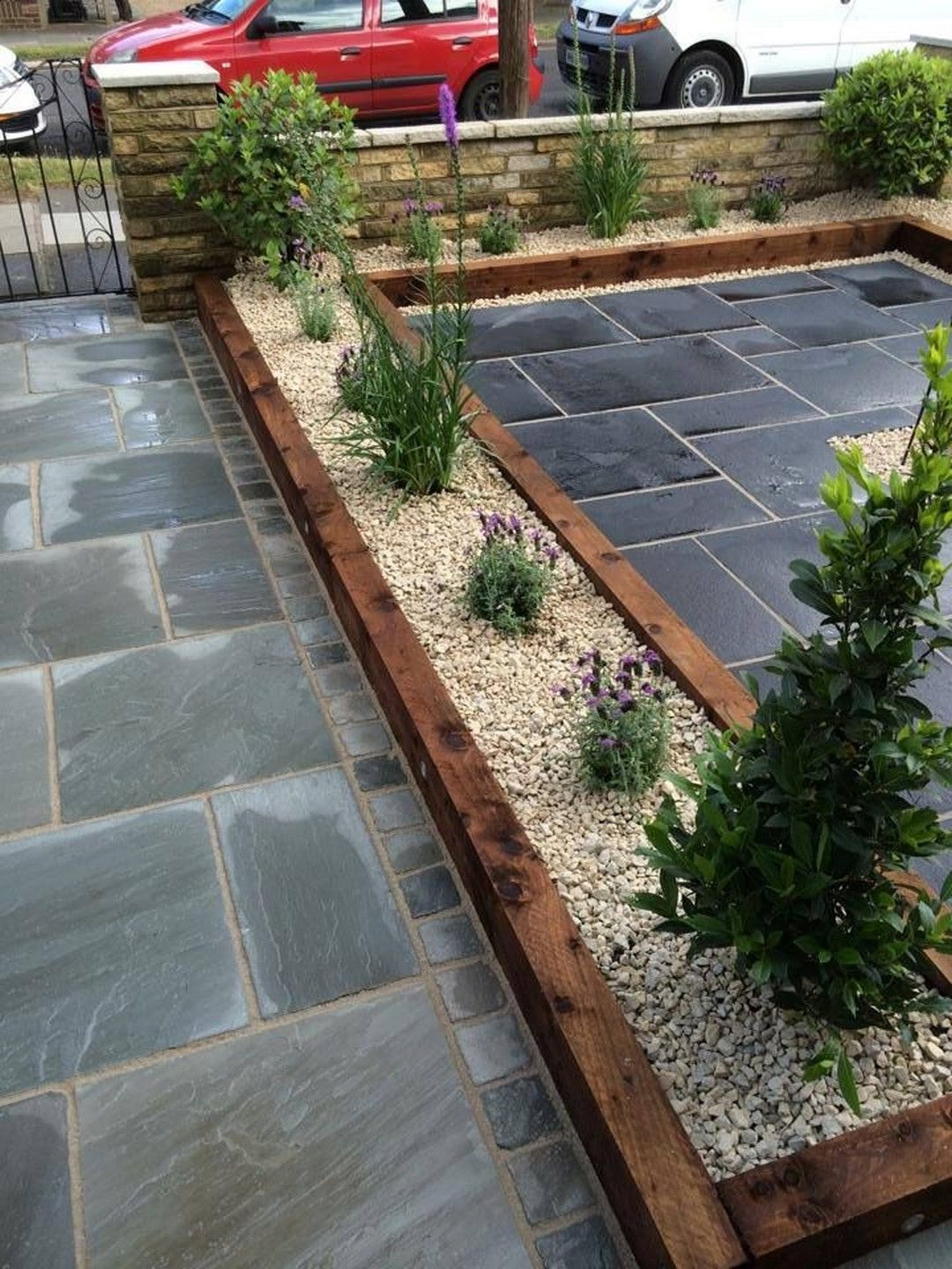 Amazing Diy Slate Patio Design And Ideas Small Garden