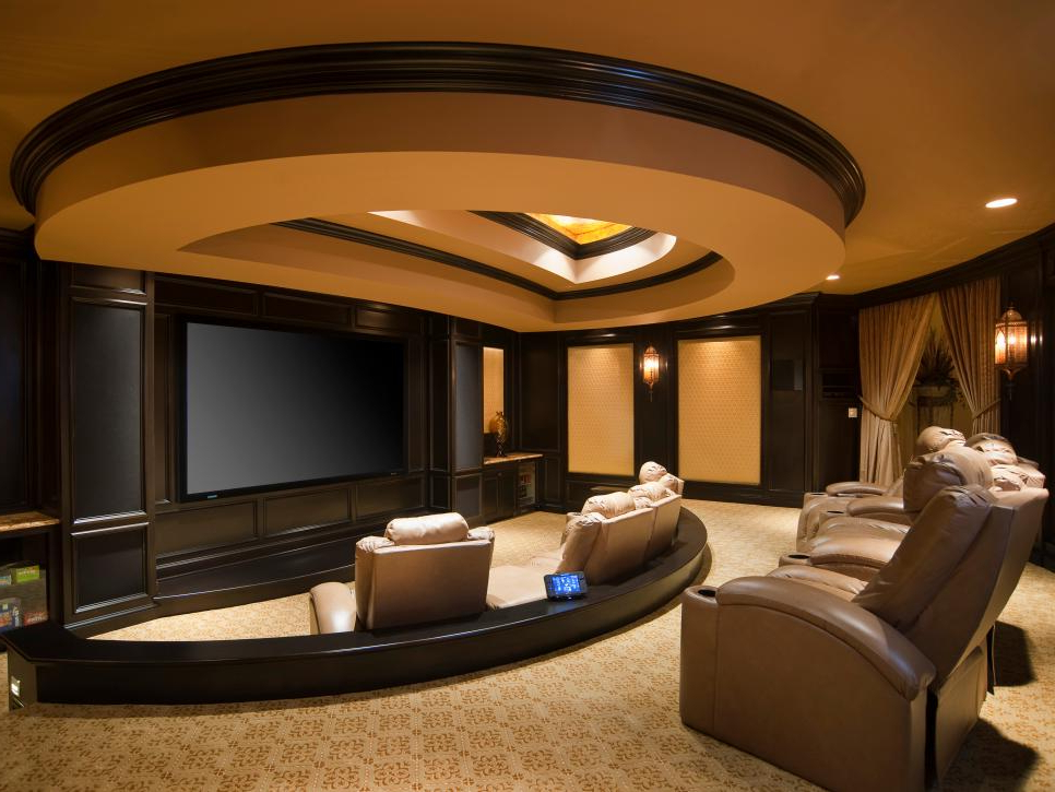 Amazing Home Theater Designs Hgtv