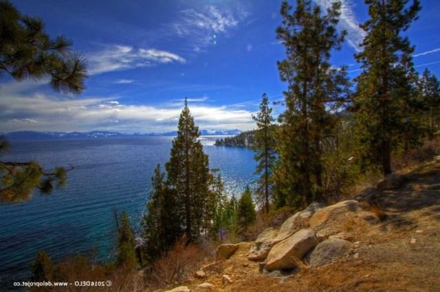 Amazing Landscape Of Lake Tahoe North California Deloprojet