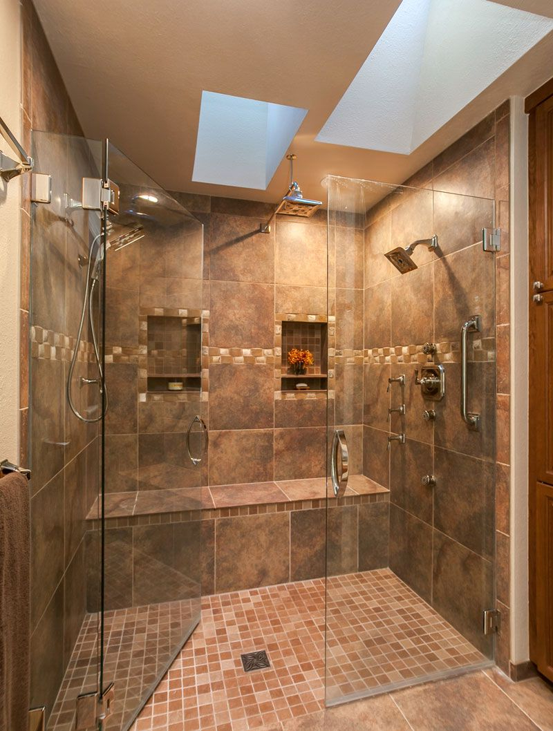 Amazing Master Bath Renovation In Denver With Huge Double