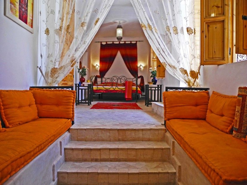 Amazing Moroccan Interior Design Ideas With Orange Color