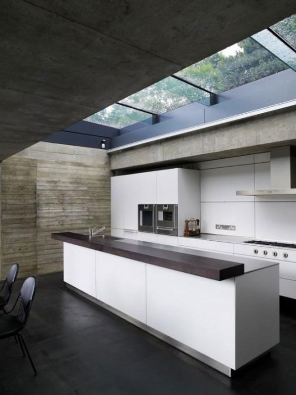 Amazing Skylight Kitchen Designs