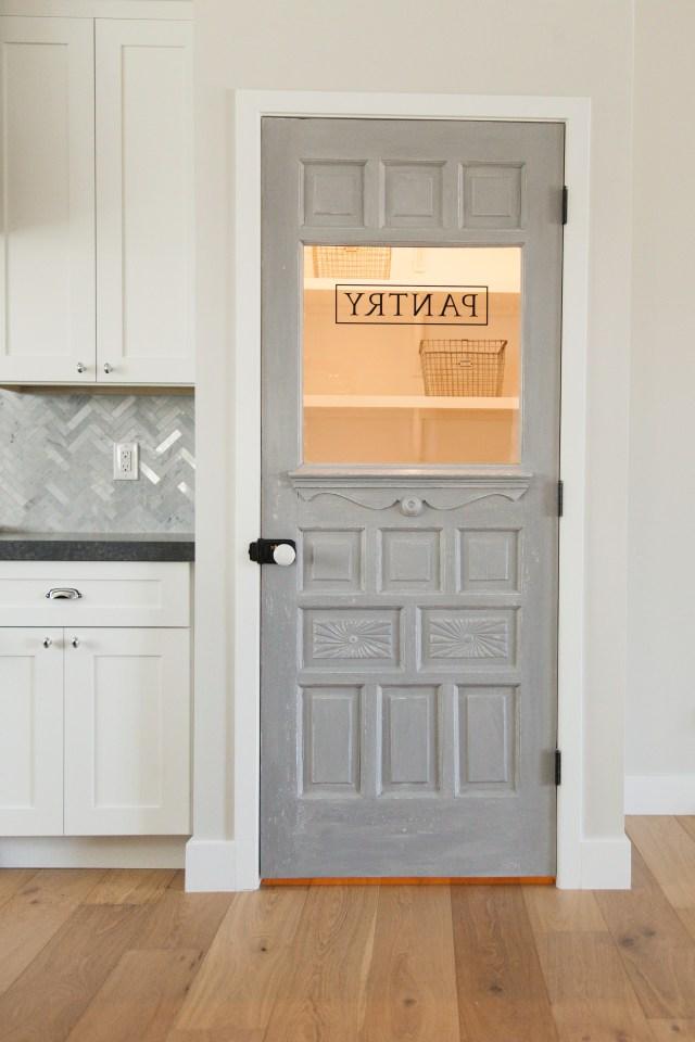 Antique Door Repurposed As A Pantry Door Rafterhouse
