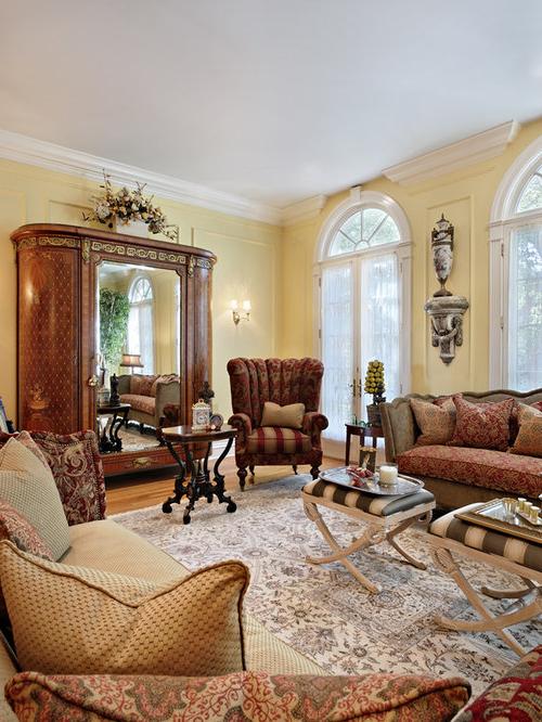 Antique Living Room Home Design Ideas Pictures Remodel
