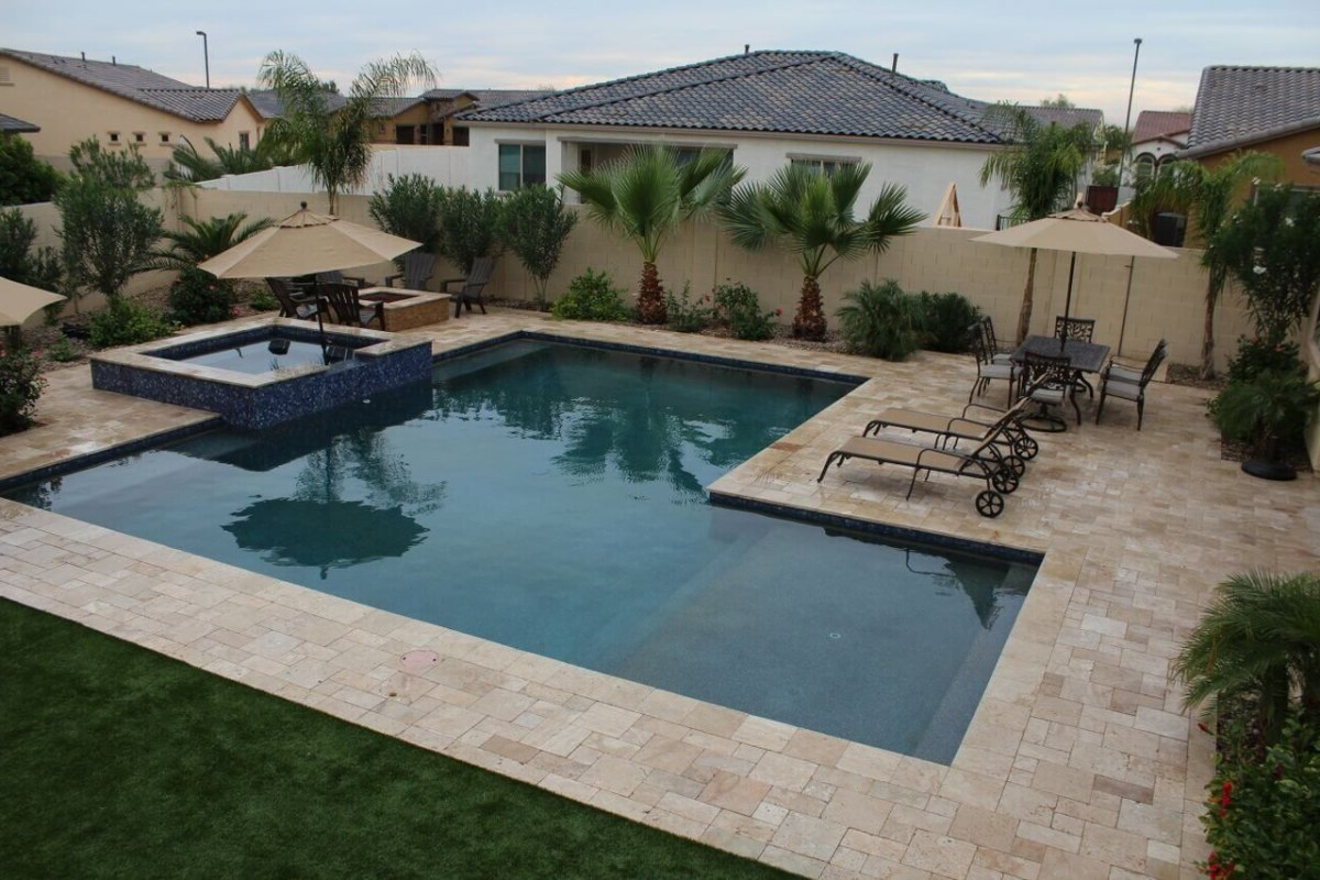 Arizona Custom Pool Spa Expert Buyers Guide Backyard