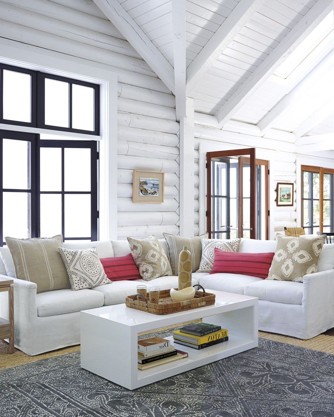 Atelier Coffee Table Log Home Interiors Cabin Interiors