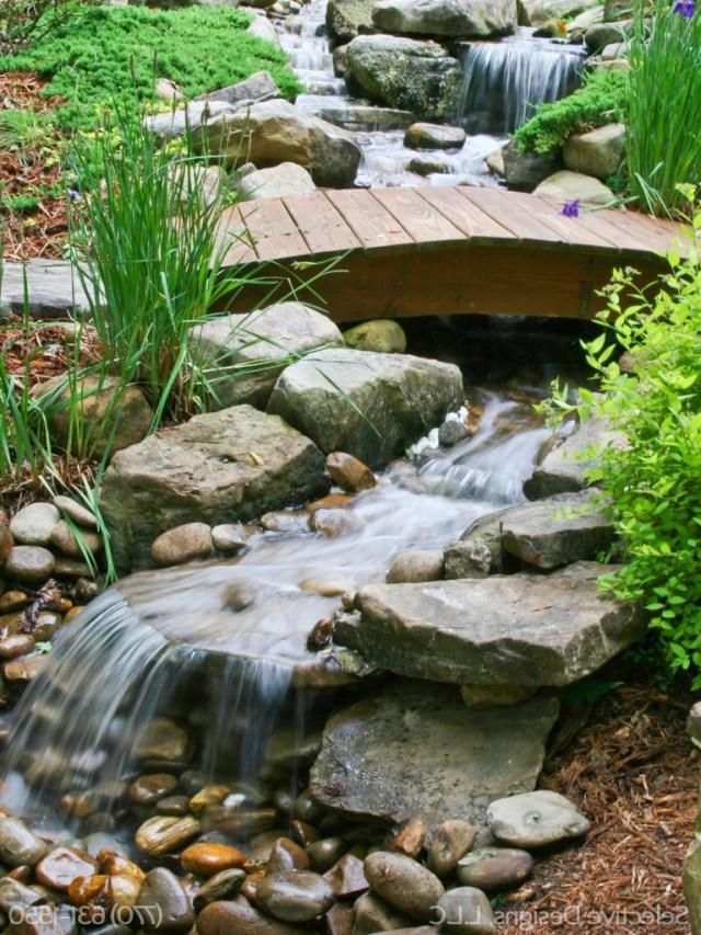 Atlanta Landscape Waterfall Outdoor Pond Atlanta