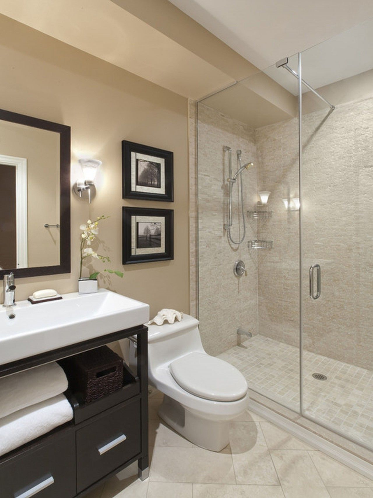 Awesome Bathroom Floor Tile Ideas Composition Glamorous