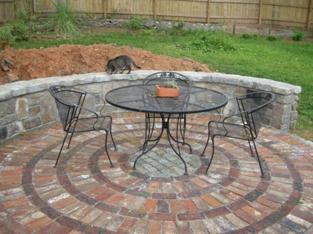 Awesome Brick Patterns Patio Ideas For Beautiful Yard 7007