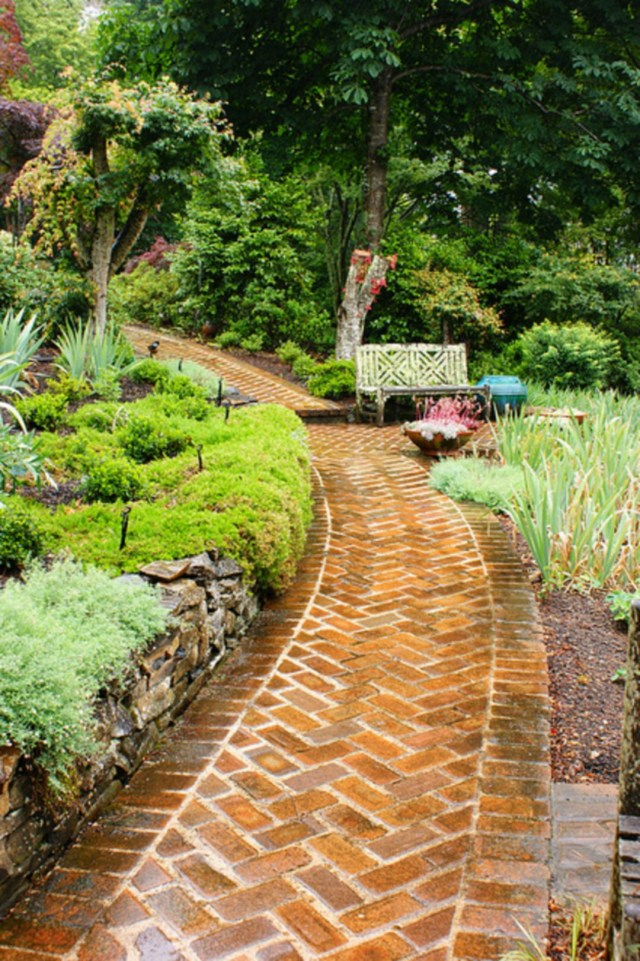 Awesome Brick Patterns Patio Ideas For Beautiful Yard 707