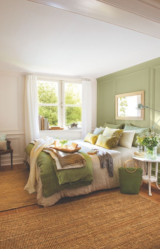 Awesome Green Bedroom Ideas You Should Follow Green