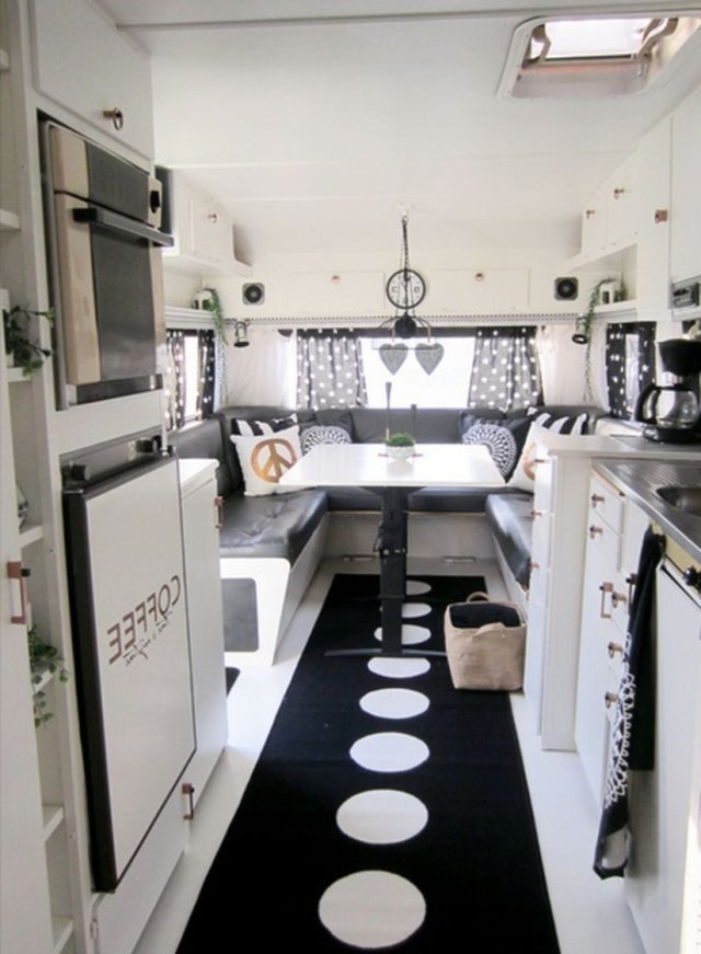 Awesome Rv Camper Interior Layout Ideas That Must You See