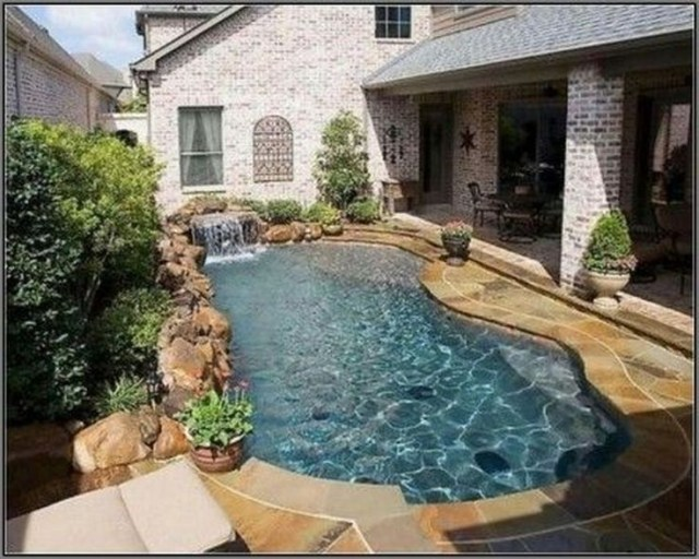 Awesome Small Pool Design For Home Backyard 55 In 2020