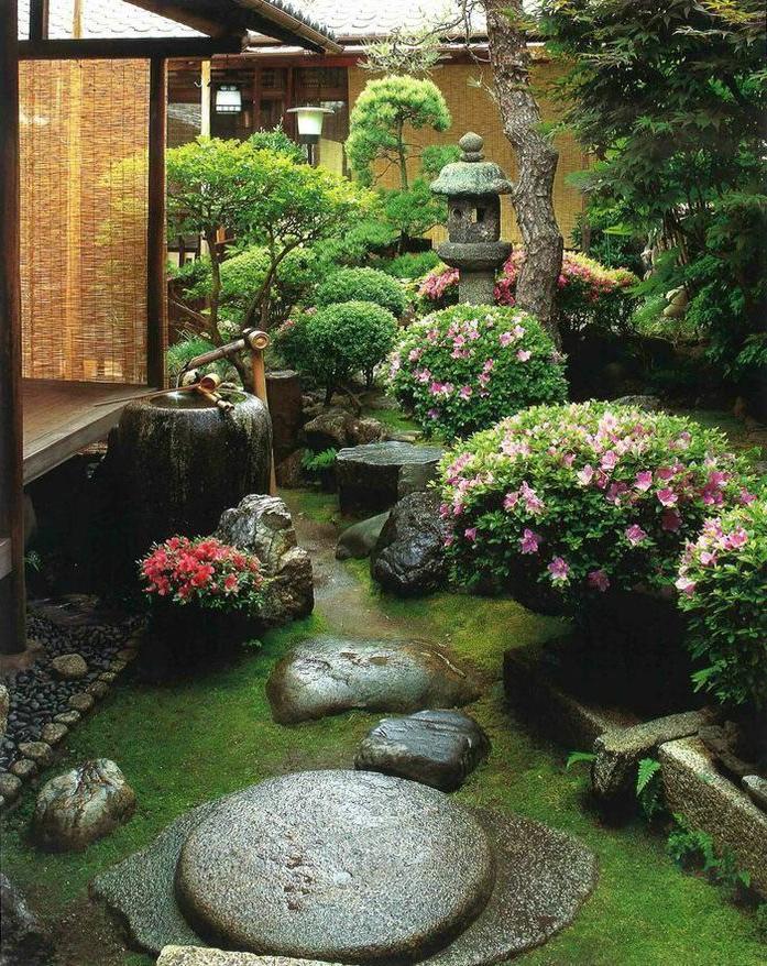 Backyard Japanese Garden Design Ideas Flower Garden Ideas