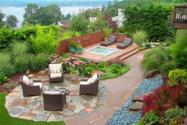 Backyard Landscape Design Solutions For Outstanding