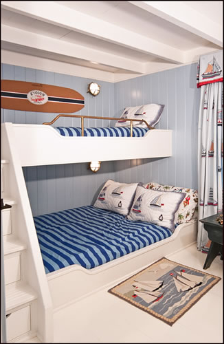 Beach House Decor Beds And Other Joinery For Small Spaces