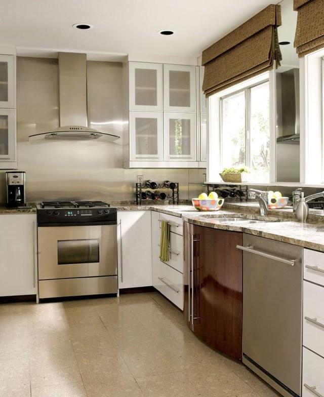 Beautiful Efficient Small Kitchens Modern Kitchen