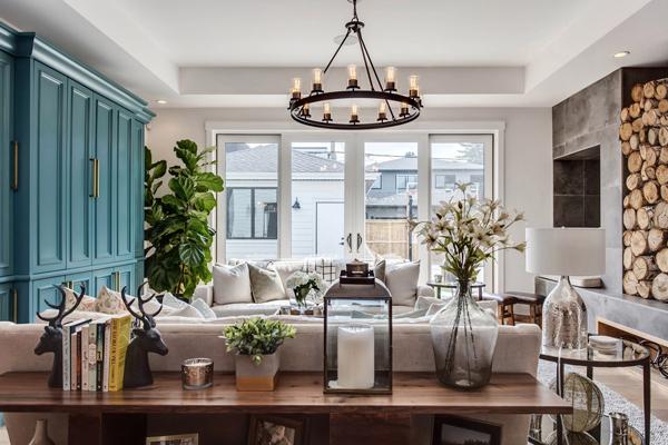 Beautiful Farmhouse Living Room Decor Homemydesign