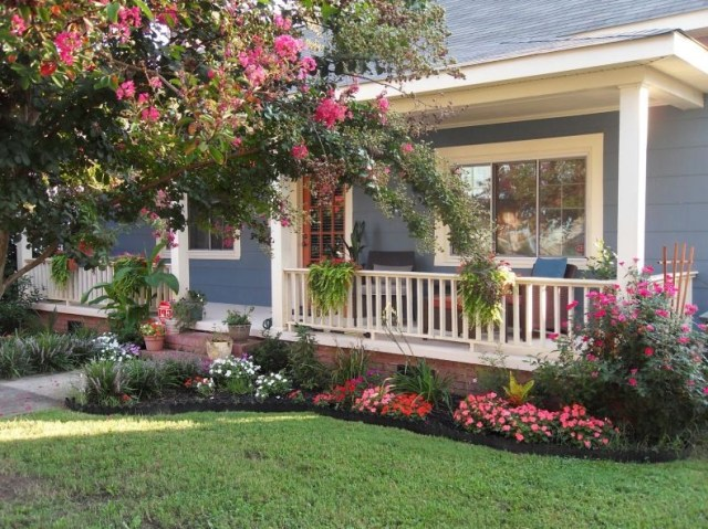 Beautiful Front Yard Flower Gardens Small And Simple