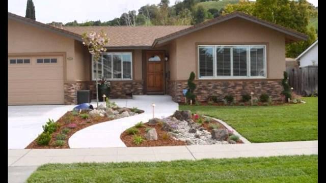 Beautiful Front Yard Landscape Design Youtube