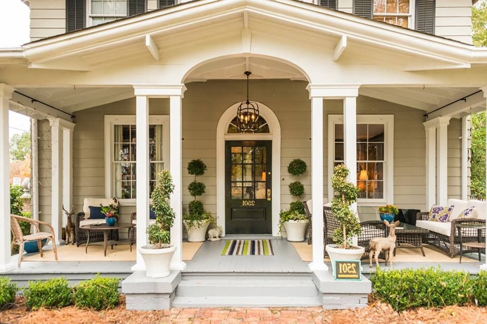 Beautiful Porch With Images Front Porch Design House