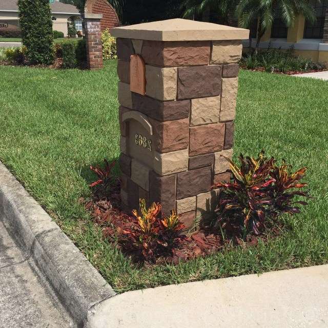 Beautiful Residential Mailboxes Design Photo Gallery