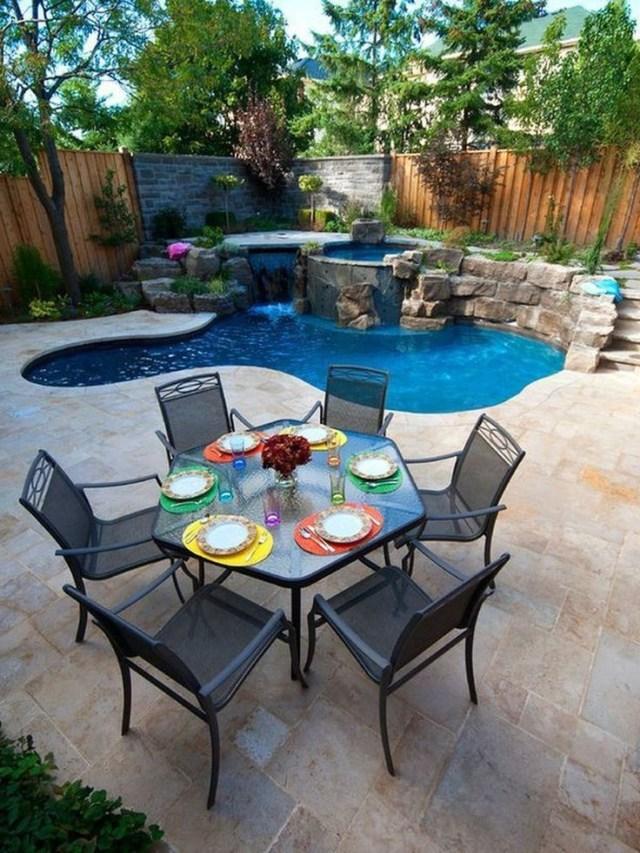 Beautiful Small Backyard Design Ideas On A Budget 33 Small Backyard Pools Small Backyard Design