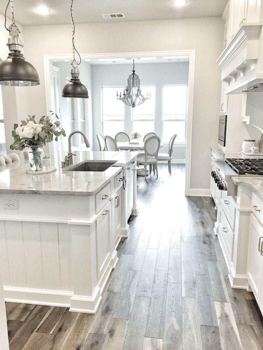 Beautiful White Kitchen Cabinet Decor Ideas 65 Triplex