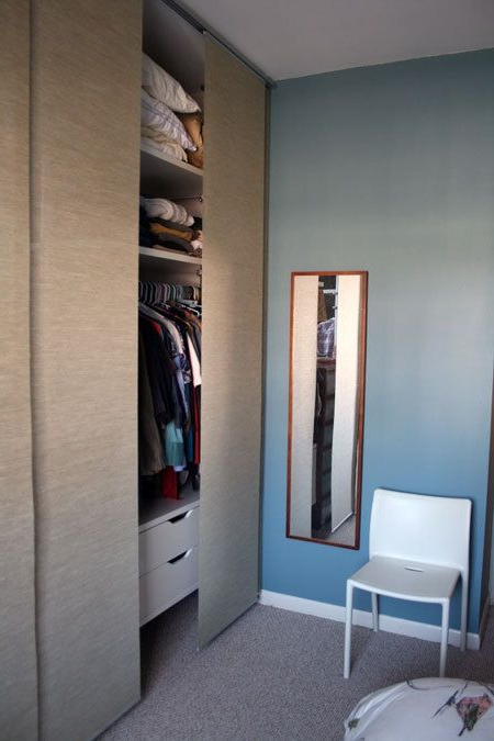Before After Hiding The Great Wall Of Clothes Ikea