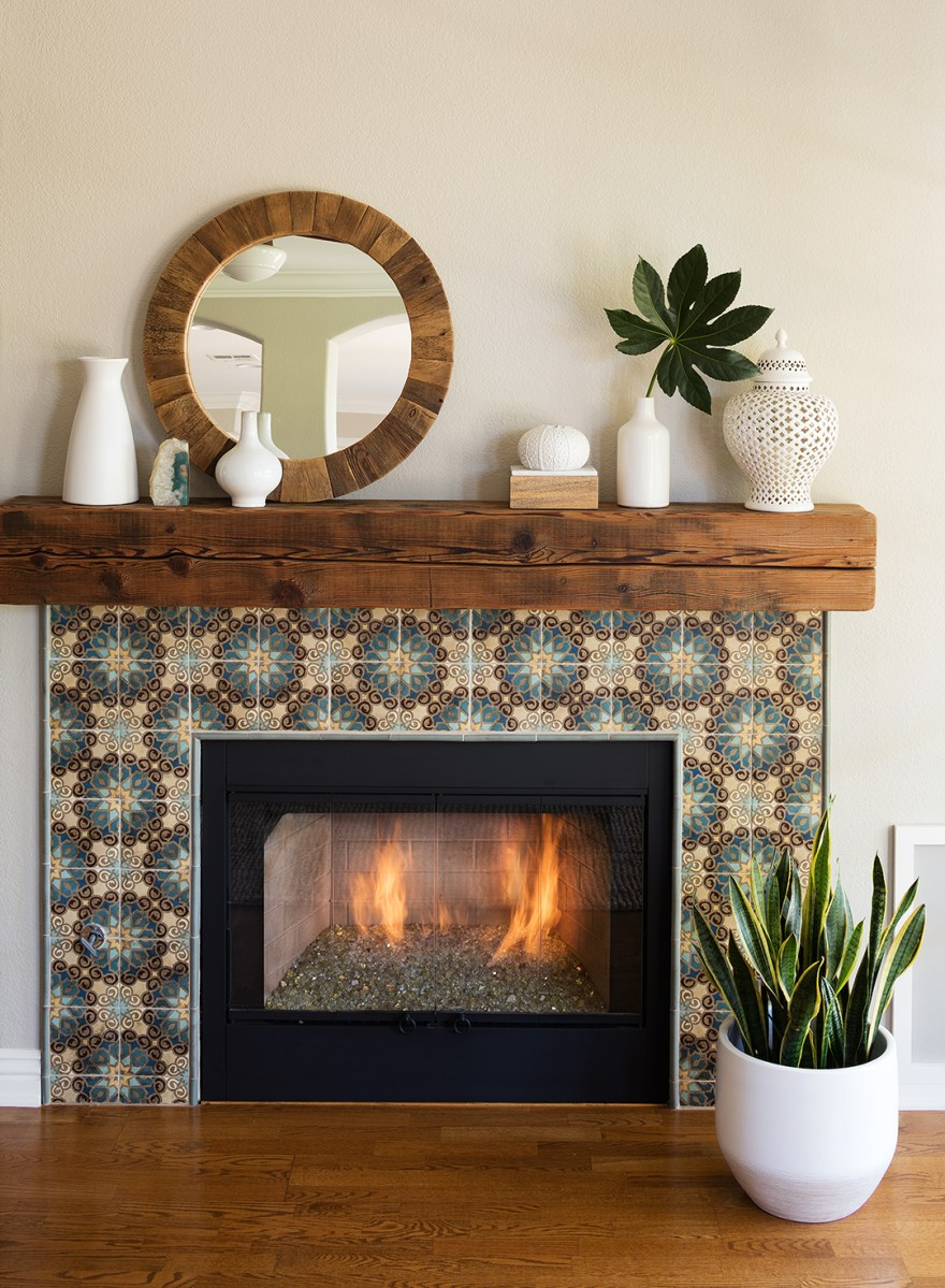 Before And After Fireplace Makeovers Better Homes Gardens