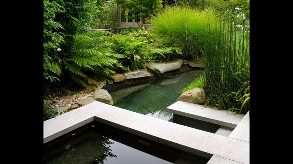 Best Idea Design Of Small And Large Koi Fish Pond Youtube