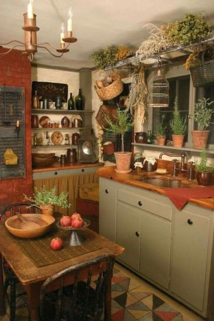 Best Ideas Primitive Country Kitchen Decor Simple