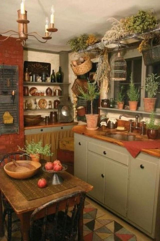 Best Ideas Primitive Country Kitchen Decor Simple
