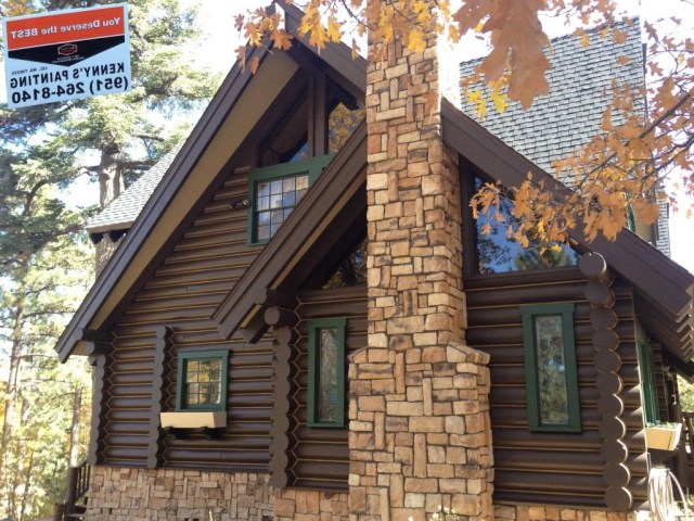 Big Bear Log Home Care With Images Log Homes Exterior
