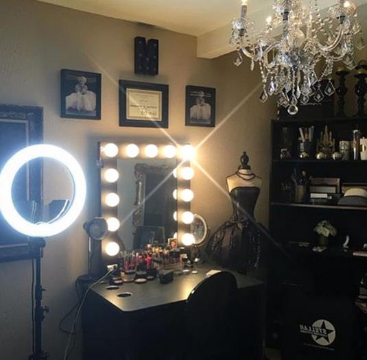 Black Makeup Room Inspo Black Makeup Room Makeup Rooms
