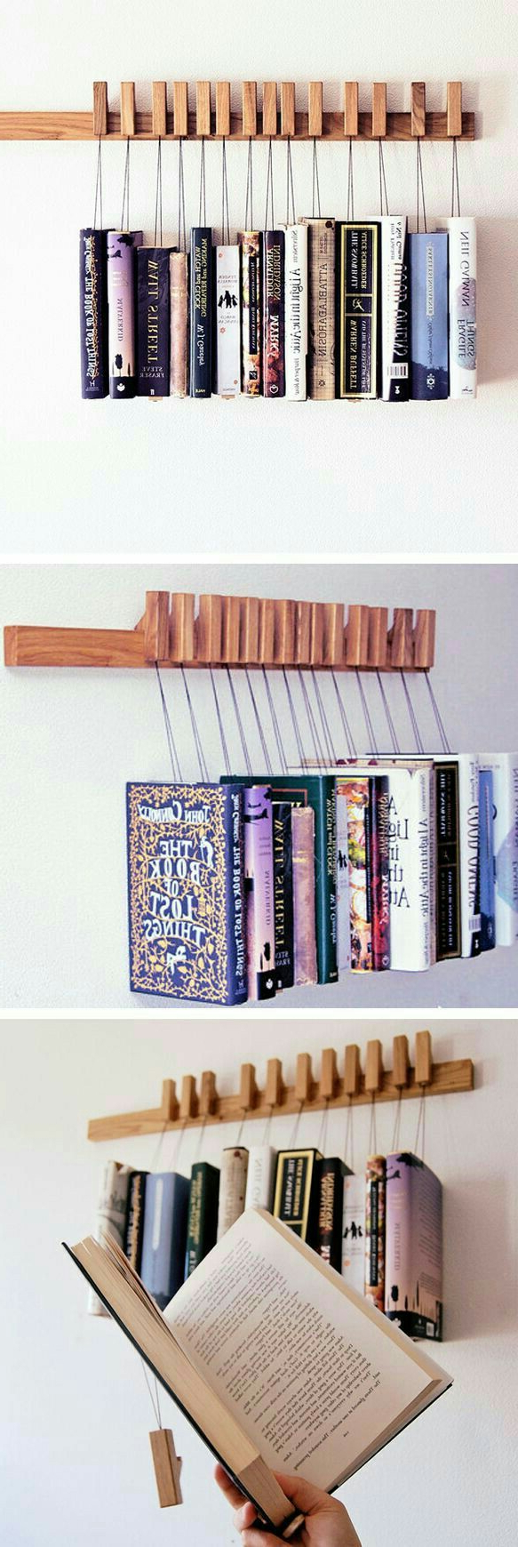 Book Racks Image Sumaiyya On Creativity Wooden Books